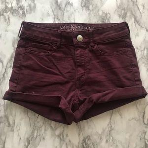 Maroon Shorts